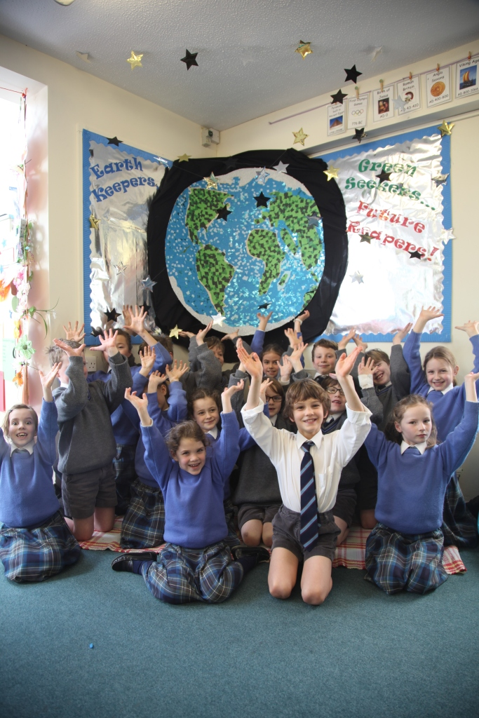 The Year 3 Earth Mosaic