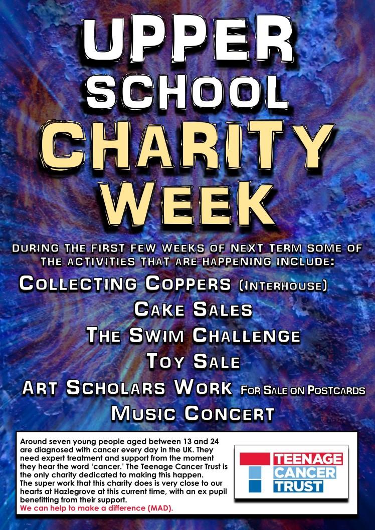 Upper School Charity Week