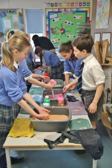 Carymoor paper making