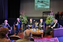 Sir Hew Strachan, Sir Peter Squire, James Holland, Commodore Thomas and Sebastian Cox