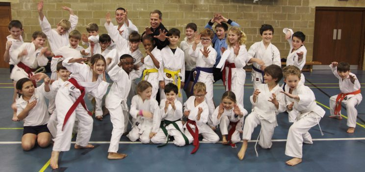 Karate with Chris Bradford