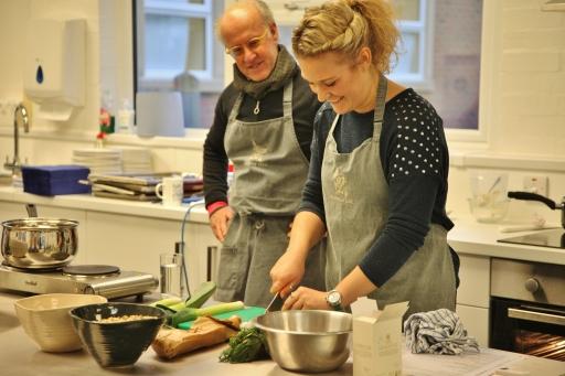 Roger Saul spelt cookery