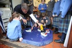 Making solar boats