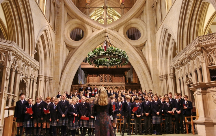 Wells Cathedral Carol Service