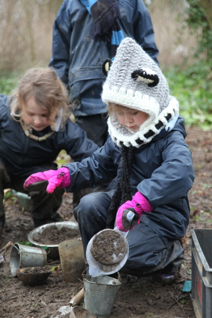 Year 1 extended forest school