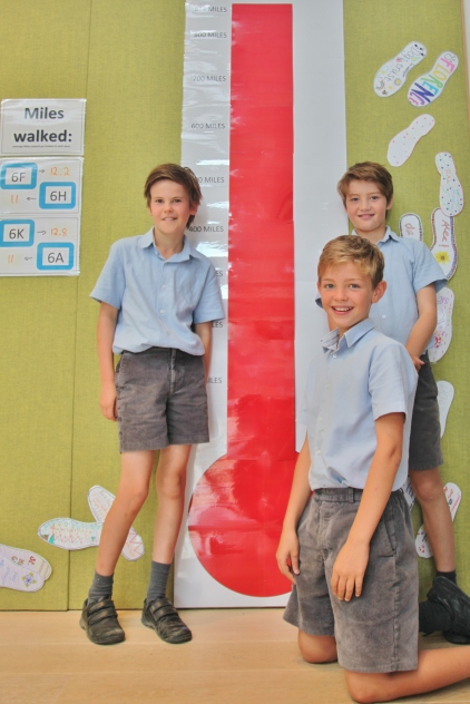 Year 6 Walk a Mile in My Shoes